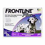 Frontline Plus Flea & Tick for Dogs, 45 to 88 lb., 6 Month