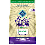 Blue Basics Grain-Free Turkey & Potato Recipe Adult Dog Food, 4 lb.