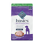 Blue Buffalo Basics Grain-Free Turkey & Potato Recipe Adult Dog Food, 24 lb.