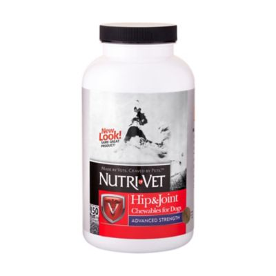 Buy Nutri-Vet Hip & Joint Advanced Strength Chewables for Dogs Online