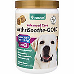 NaturVet ArthriSoothe-GOLD Clinically Tested Advanced Care Soft Chews, 180 Count
