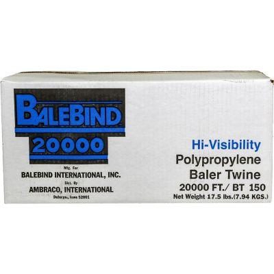 Buy Balebind 20000 ft. of Polypropylene Baler Twine; 150 lb. Tensile Strength; Blue Online