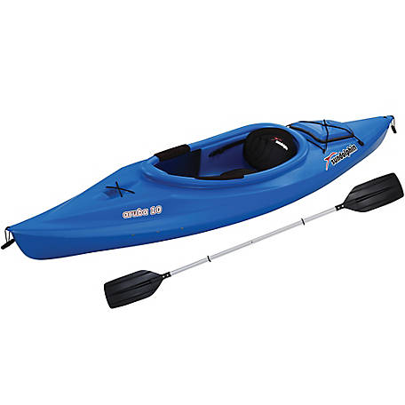 Sun Dolphin Aruba 10 ft. Kayak with Paddle, Blue, 51320-P