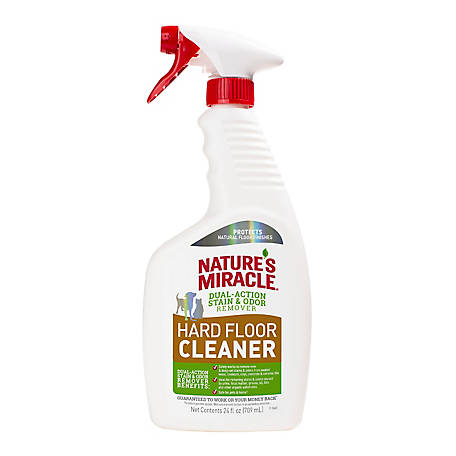 Nature's Miracle Hard Floor Stain & Odor Remover with Trigger Spray, 24 fl. oz., P-98225