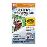 SENTRY Fiproguard Plus Flea and Tick Squeeze-On for Dogs, 4-22 lb., 3 Count