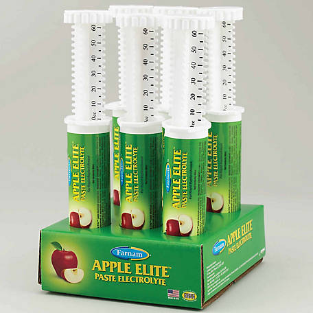 Farnam Elite Apple Electrolyte Paste Syringe, 60 cc
