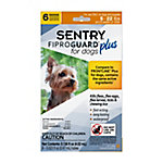 SENTRY Fiproguard Plus Flea and Tick Squeeze-On for Dogs, 4-22 lb., 6 Count