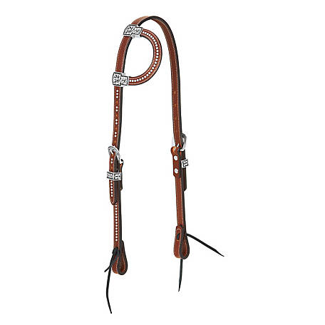 Weaver Leather Austin Flat Sliding Ear Headstall