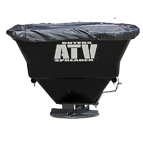 Buyers Products Company Horizontal Mount ATV All-Purpose Spreader, 100 lb., ATVS100
