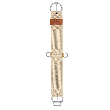 Weaver Leather Natural Blend 27-Strand Straight Smart Cinch with Roll Snug Cinch Buckle
