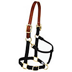 Weaver Leather Original Breakaway Horse Halter with Adjustable Chin and Throat Snap