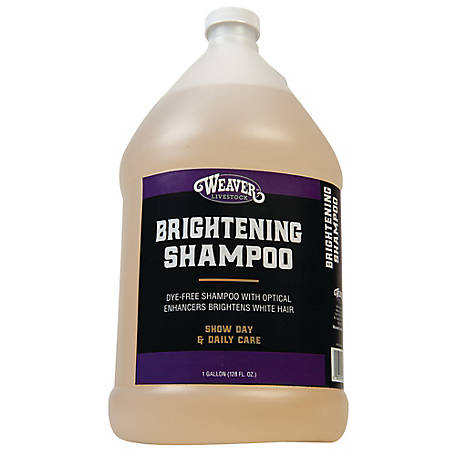 Weaver Leather Brightening Shampoo, 1 gal.