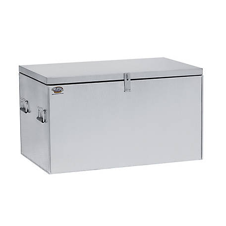 Weaver Leather Chest Style Showbox, Galvanized Steel