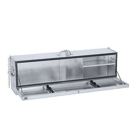 Weaver Leather Deep Hanging Showbox, Galvanized