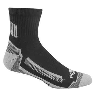 Carhartt Men's Force Performance Work Quarter Sock with FastDry Technology; Pack of 3