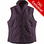 C.E. Schmidt Women's Quilted Flannel-Lined Nylon Vest