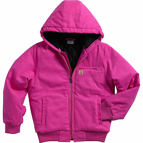 6fa939f76cf Carhartt Girl s Quilted Flannel-Lined Wildwood Jacket
