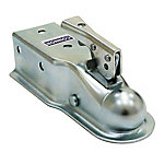 Connor Straight Coupler, 2 in. Ball, 3 in. Channel, 3,500 lb.