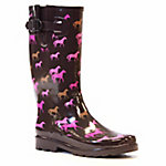 Western Chief Women's Cute Horses Rain Boot
