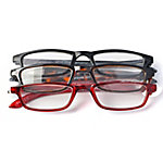 OPTX 20/20 Reading Glasses, Classic, 1.75, Pack of 3