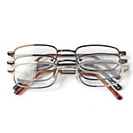 OPTX 20/20 Reading Glasses, Alloy, 1.75, Pack of 3