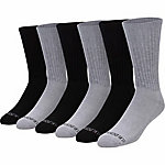Blue Mountain Cushioned Crew Socks, 6 Pairs