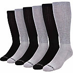 Blue Mountain Cushioned Over the Calf Sock, Pack of 6 Pairs
