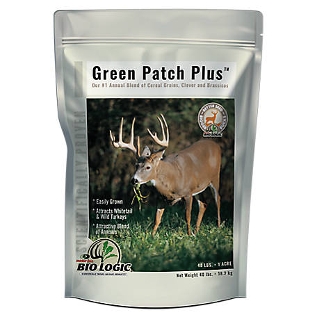 BioLogic Mossy Oak Green Patch Plus, 40 lb., 8421