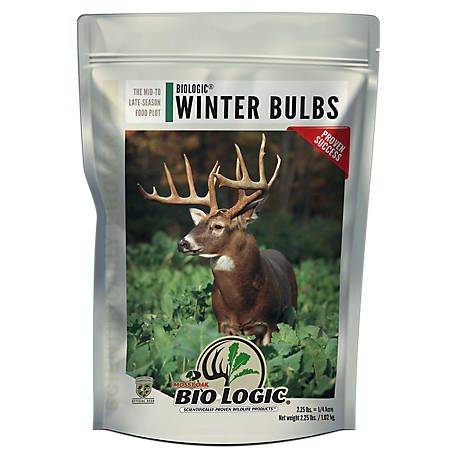 BioLogic Mossy Oak Winter Bulbs & Sugar Beets, 2.25 lb., 4003