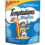 Whiskas Temptations Surfers' Delight Mixups Mega Bag, 6.3 oz.