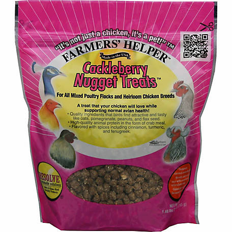 Farmers' Helper Cackleberry Nugget Treats, 1.68 lb., CS06338