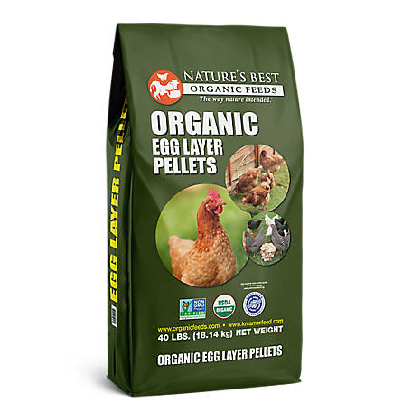 Nature's Best Organic Egg Layer Pellets, 40 lb.