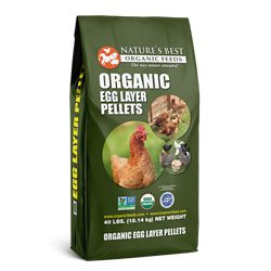 Shop Nature's Best Organic 40 lb. 16% Egg Layer Feed at Tractor Supply Co.