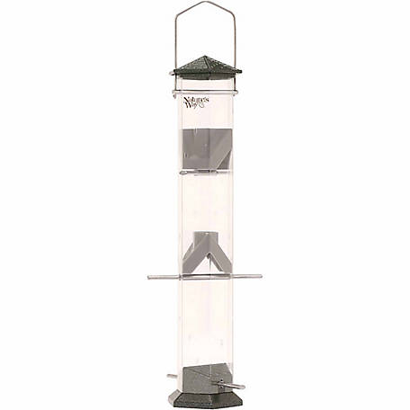 Nature's Way Deluxe 17 in. Twist & Clean Thistle Feeder