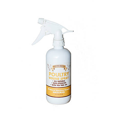 Rooster Booster Poultry Wound Spray, 16 oz.