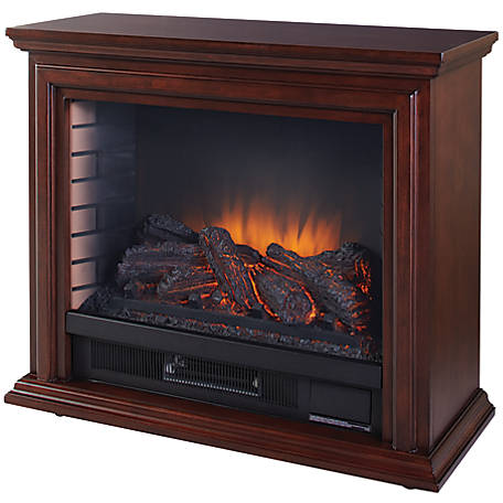 Pleasant Hearth Sheridan Mobile Fireplace