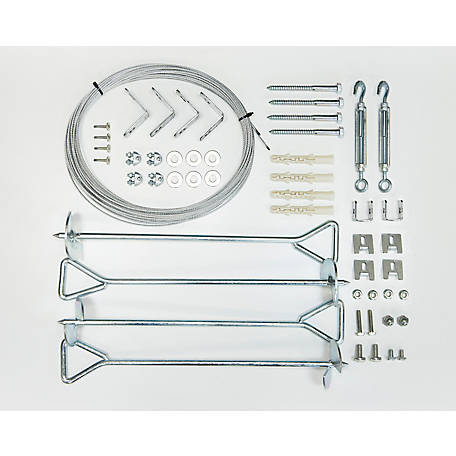 Palram Anchor Kit, For Palram Nature Series Greenhouses