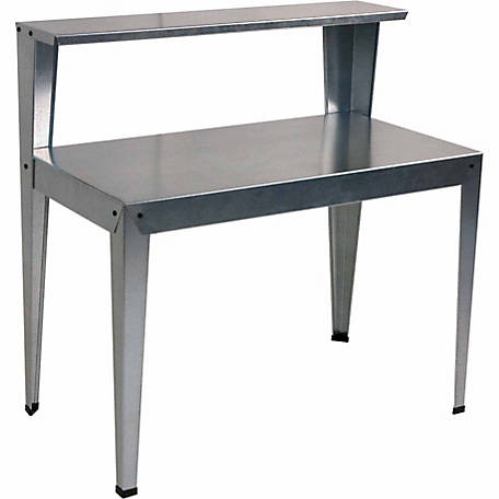 Poly-Tex Galvanized Potting Bench, 44 in. x 24 in. x 44 in.