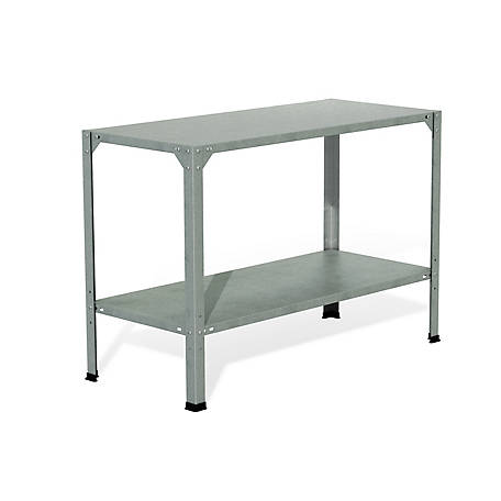 Palram Steel Work Bench, 46 in. x 20 in. x 32 in.
