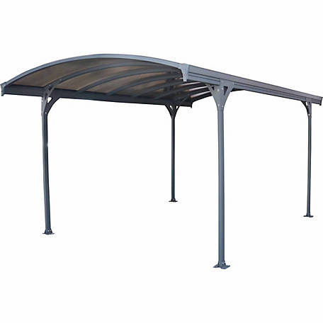 Palram Vitoria Carport, Gray