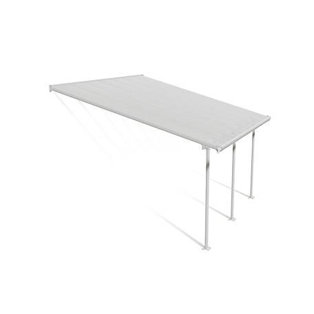 Palram Feria Patio Cover 13 Ft X 14 Ft White At Tractor Supply Co