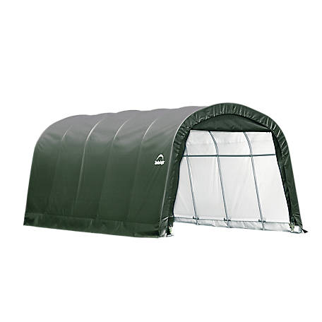 ShelterLogic Landowner Series Garage-in-a-Box RoundTop, 12 ft. x 20 ft. x 8 ft.