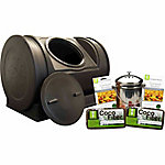 Good Ideas Compost Wizard Starter Kit, Black, 22 in. x 30 in.