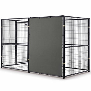 Retriever all weather panel kennel sold separately at for All weather dog kennels