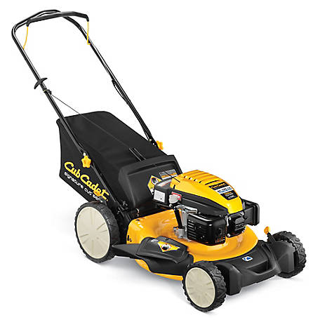 Cub Cadet SC 100 HW 21 in. 3-IN-1 159cc High Wheel Push Mower, CARB Compliant