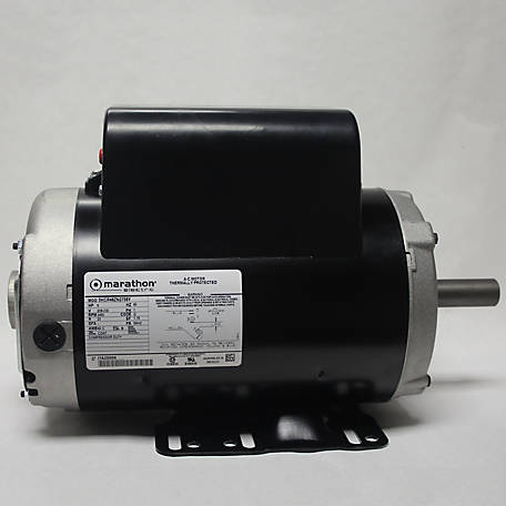 Marathon Electric Air Compressor Motor, 5HP