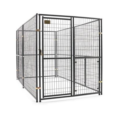 retriever lodge expandable kennel 10 ft l x 5 ft w x 6 ft h at