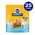 Pedigree Dentastix Original Treat. Small/Medium dog, Pack of 25