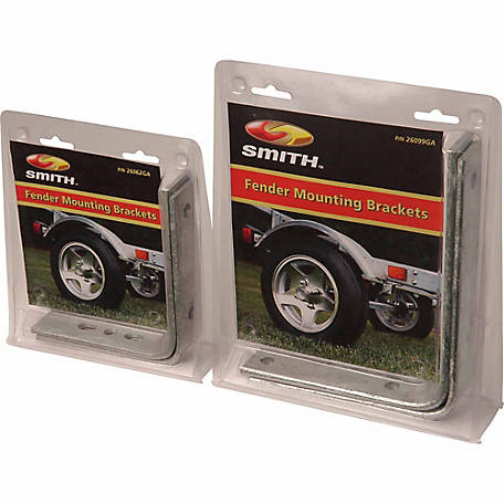 C.E. Smith Fender Mounting Brackets, 7 in. (8 in. to 12 in. Tire), Pair