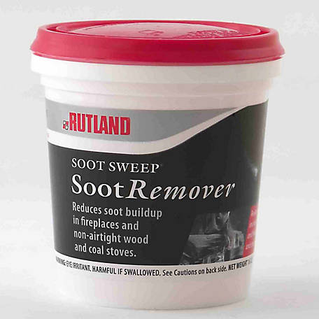 Rutland Soot Sweep Soot Destroyer, 1 lb. Tub, 100